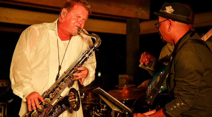 Euge Groove performs at annual weekend of jazz kiawah