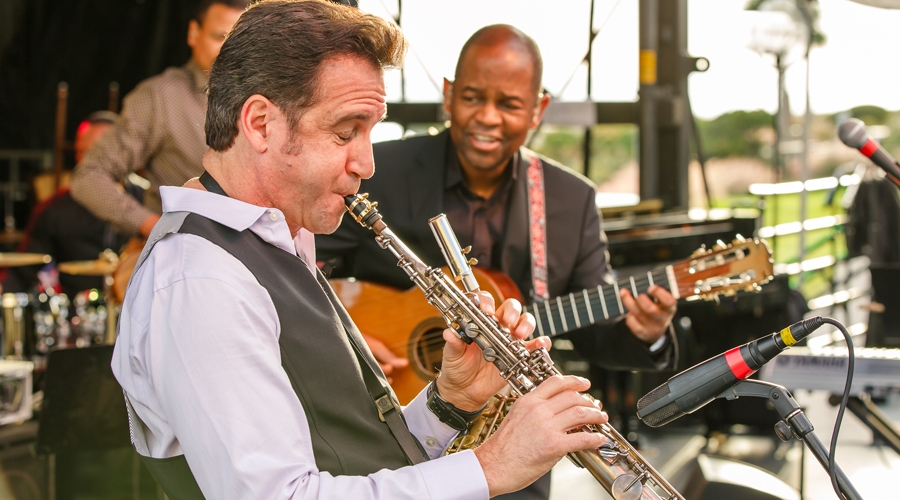 Eric marienthal and earl klugh perform at annual weekend of jazz kiawah
