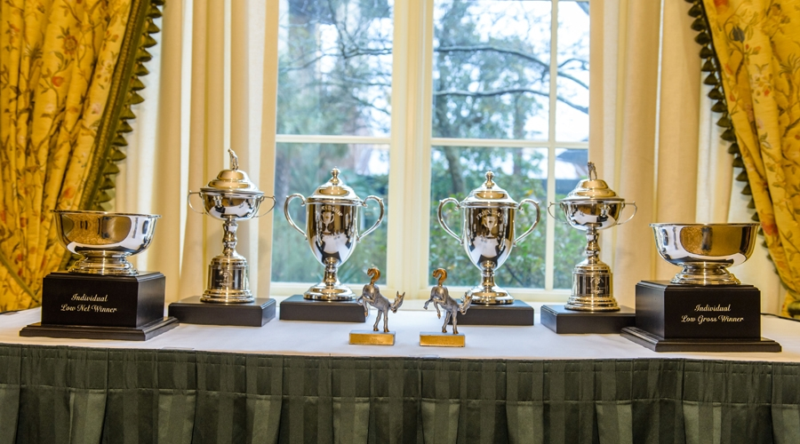 Trophies for 2014 Friendship Cup Winners