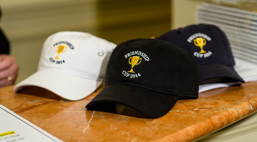 Hats for 2014 Friendship Cup Players