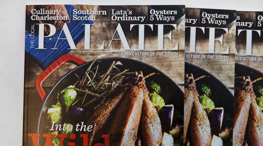 Local palate magazines on display at annual gourmet and grapes weekend