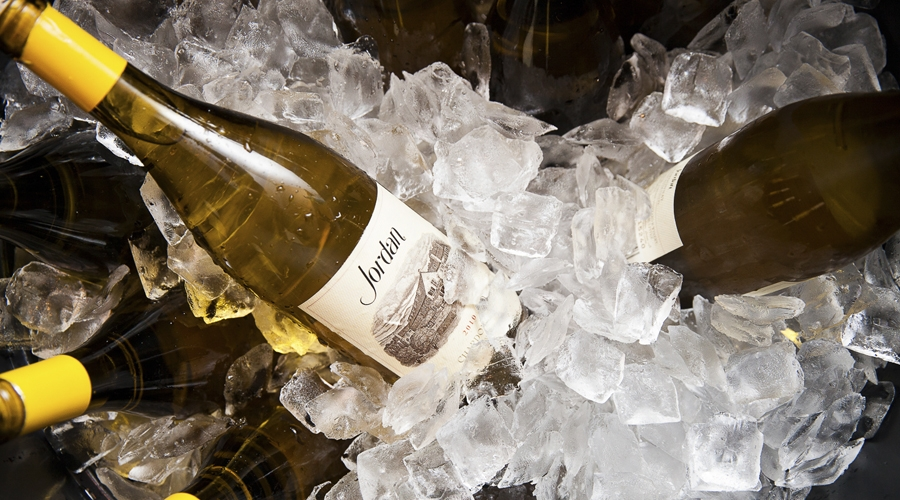 Jordan wine on ice at annual gourmet and grapes weekend