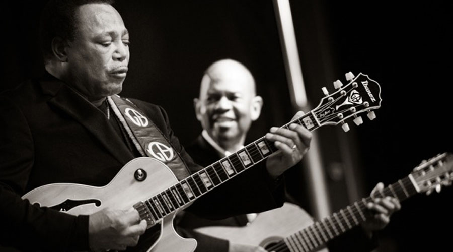 Earl Klugh and George Benson