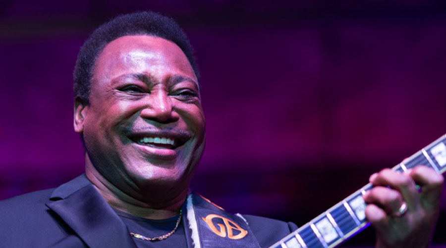 George Benson with His Guitar