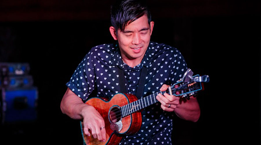 Jake Shimabukuro Takes The Stage
