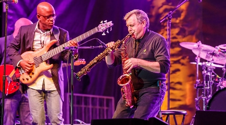 Spryo gyra performs at annual weekend of jazz kiawah