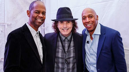 Earl Klugh, Boney James and Jeffrey Osborne