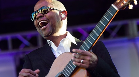 Earl Klugh With HIs Guitar