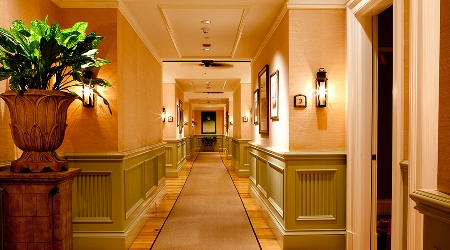Hallway at The Spa at The Sanctuary