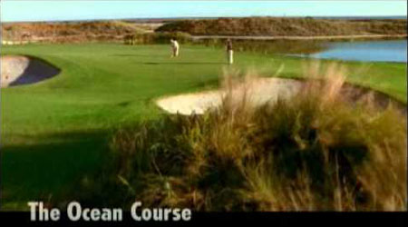 The ocean course video