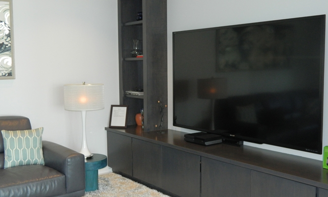 1st Floor Media Room TV
