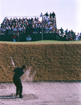 Bunker Shot at the '97 World Cup of Golf