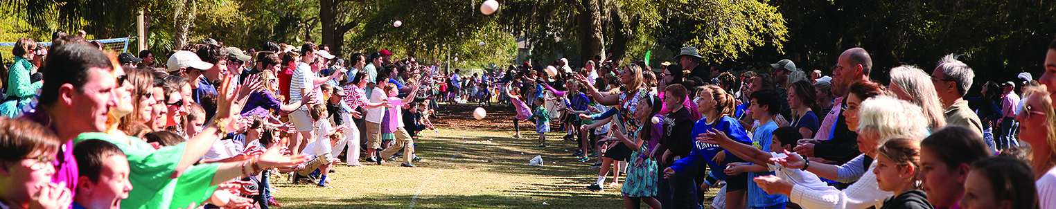 Easter Egg Toss Header