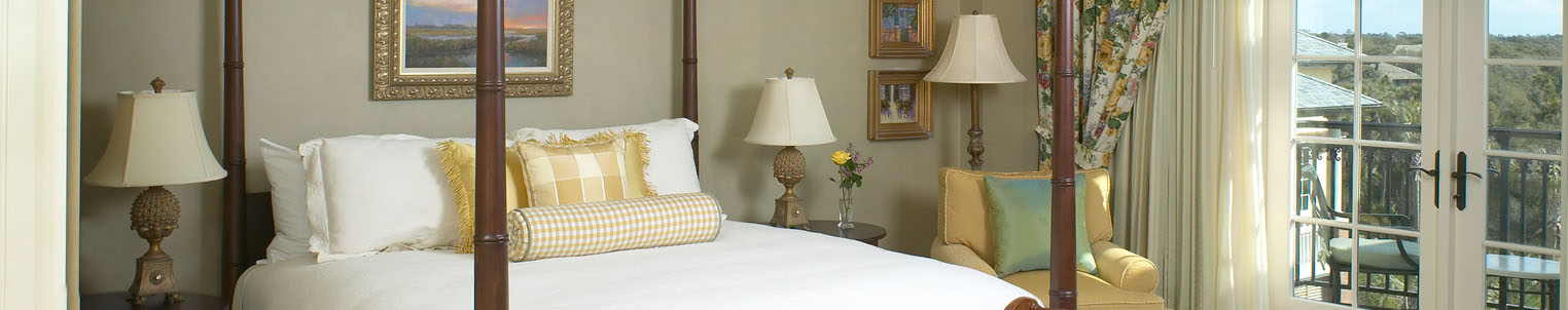 Accommodations - The Sanctuary - Governor Suite