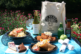 sample market picnic bag