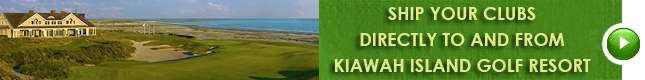 ship your clubs to and from kiawah island golf resort