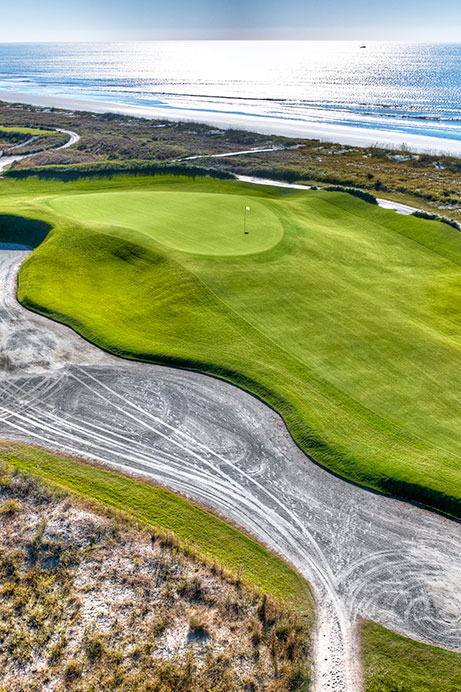 View of Hole 14 of The Ocean Course