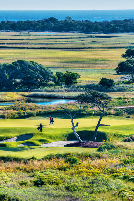 View of Hole 2 of The Ocean Course