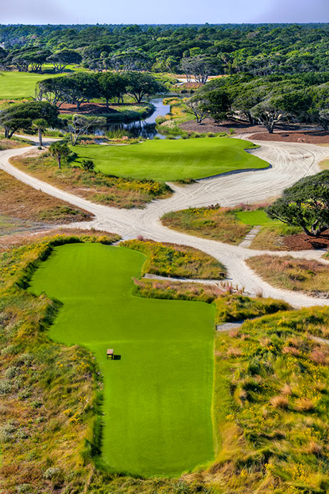 View of Hole 8 of The Ocean Course