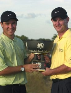 Rory Sabbatini and Trevor Immelman