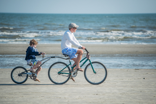 biking on kiawah island