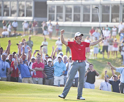 Rory McIlroy winning the 2012 PGA Championship