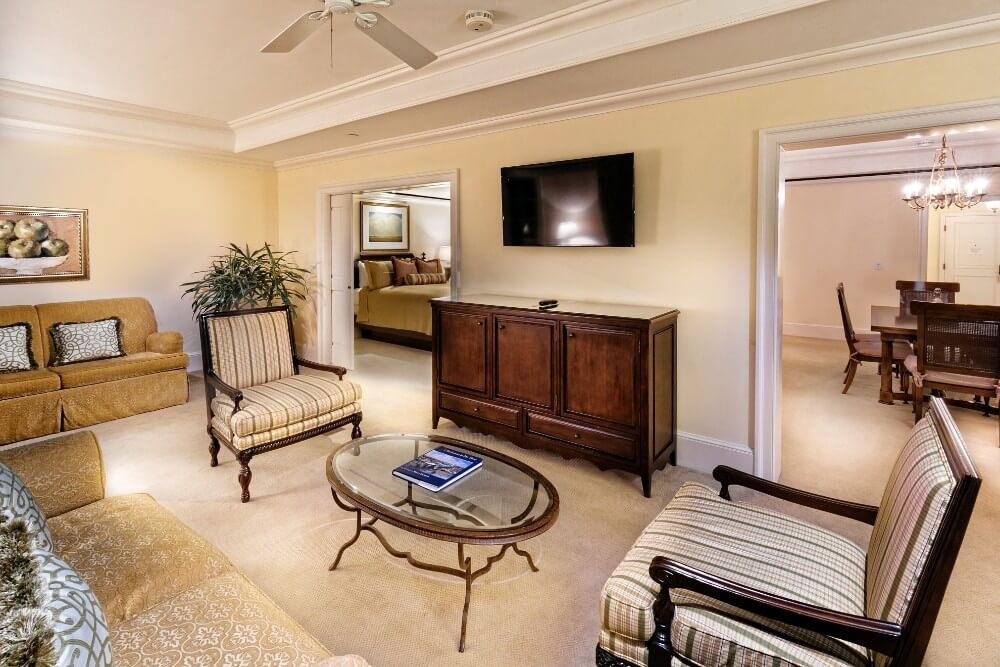Charleston Suite living room