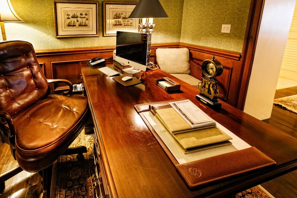 Presidential Suite office