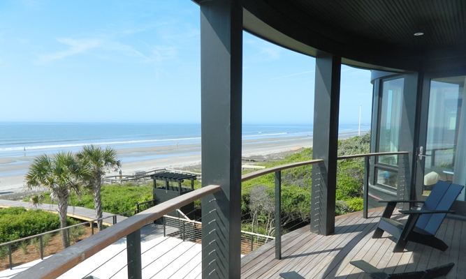 Balcony Accessible From All 3 Master Bedrooms
