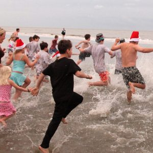 Kiawah Island New Year's Polar Bear Plunge