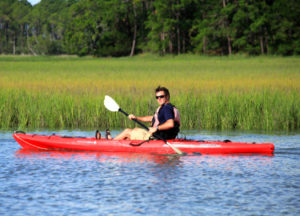 Marsh Kayaking