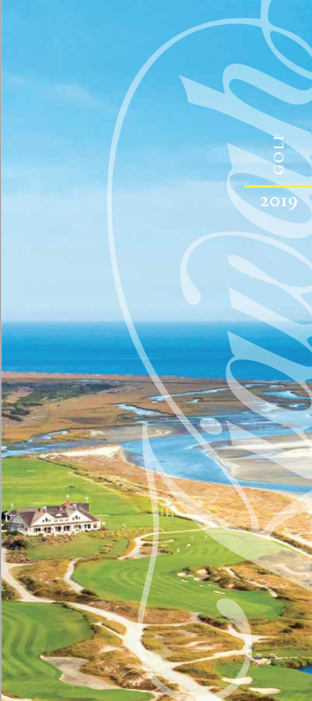 2019 Kiawah Golf Brochure