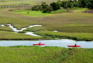 Kayakers at Kiawah Island Golf Resort