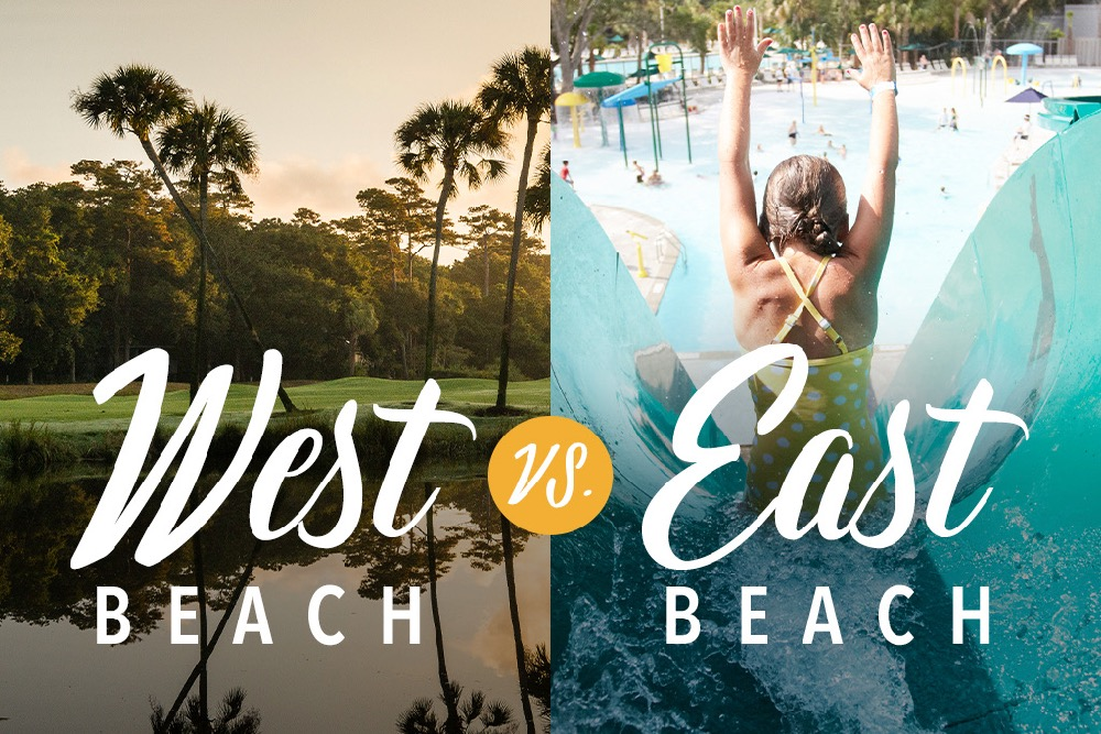 East Beach vs. West Beach