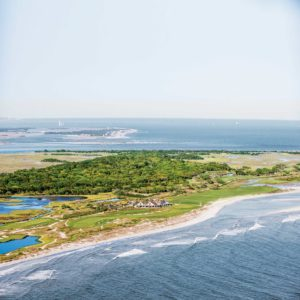 Kiawah Ocean Course Clubhouse Aerial View